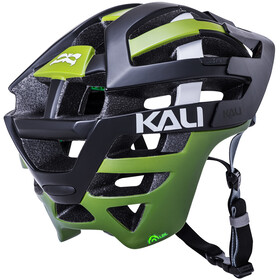 Kali Interceptor casco per bici Uomo nero/verde oliva